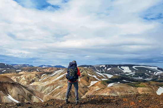 Volcanic landscape of Landmannalaugar, Iceland. Mountain guides were the mainstay of the early Cicerone publishing programme and are still very much a core product today (photo © Jekaterina Sahmanova / dreamstime.com).