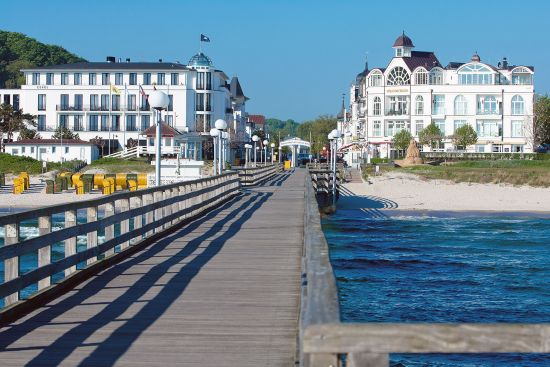 The German resort town of Binz on the Baltic island of Rügen (photo © Szabolcs Kiss / dreamstime.com).