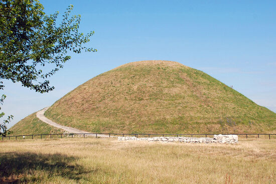 Krakus Mound in Kraków's district of Podgórze is the highest elevation within the Polish city. It dates back in part to the 8th century (photo © Duncan JD Smith).