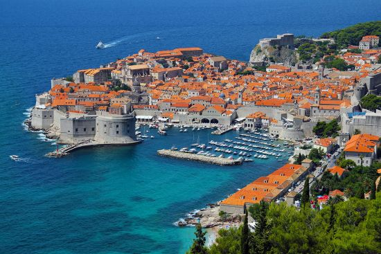 The city of Dubrovnik in Croatia was the capital of the former Ragusan Republic (photo © Branex / dreamstime.com).