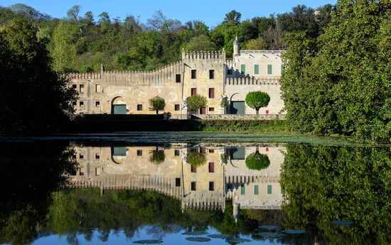 The Castello del Catajo near Battaglia Terme in the Veneto region of Italy (photo © Fabio Lotti / dreamstime.com).