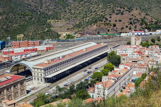 The railway station in Portbou, Spain (photo © Marcopachiega / dreamstime.com).