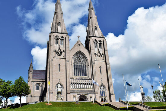The Roman Catholic cathedral in Armagh is the hub of a diocese that now spans the outer edge of the European Union (photo © Anna & Piotr / dreamstime.com).