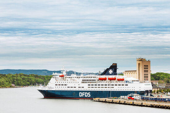 Ferry operator DFDS has creatively picked up the Stena Line route from Frederikshavn to Oslo by making an extra stop on their route from Oslo to Copenhagen (photo © Ryhor Bruyeu / dreamstime.com).