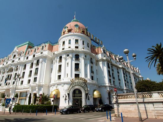 The celebrated Hotel Negresco on the Promenade des Anglais in Nice is now a firm favourite with Russian visitors to the Riviera (photo © hidden europe).
