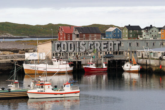 Vardø harbour in the Barents Sea, Norway (photo © hidden europe).