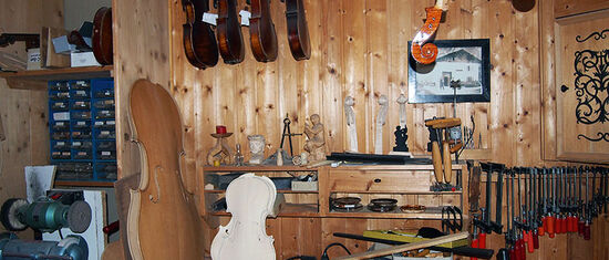 Violin making in Mittenwald