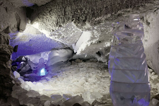 The Kungur ice cave in Perm Oblast, Russia, is a fine example of a rare natural phenomenon (photo © Sergey Ilin / dreamstime . com).