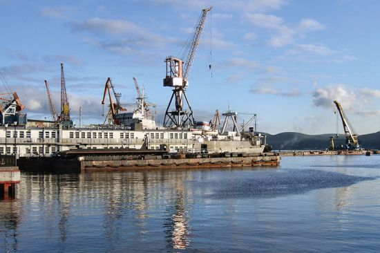Port at Murmansk