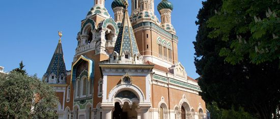 Russian Orthodox church, Nice
