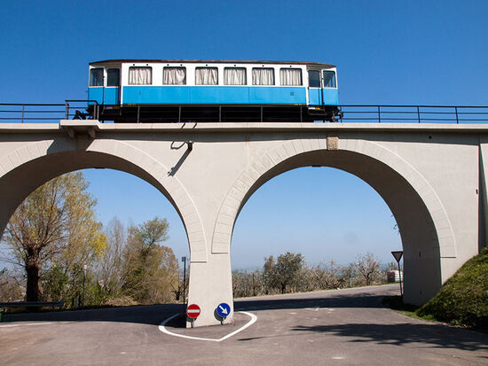 The train to nowhere: all that is left of the San Marino railway (photo © hidden europe).