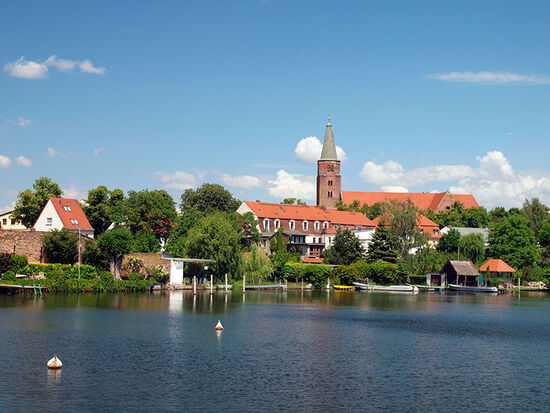 The watery townscape of Brandenburg an der Havel, Germany (photo © hidden europe)