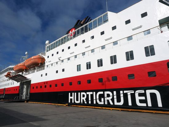 The Norwegian coastal voyage: Hurtigruten