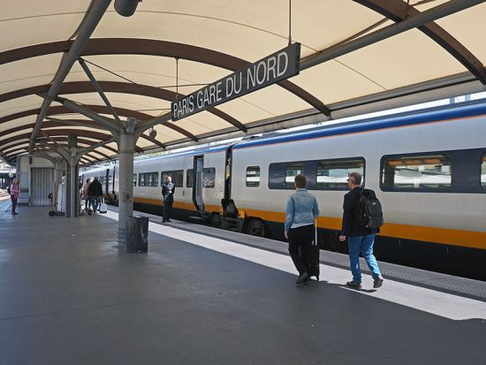 Eurostar has transformed the relationship between Paris and London, drawing the two capitals closer together. This summer there are up to 20 Eurostar departures a day from the Gare du Nord in Paris (photo © hidden europe).