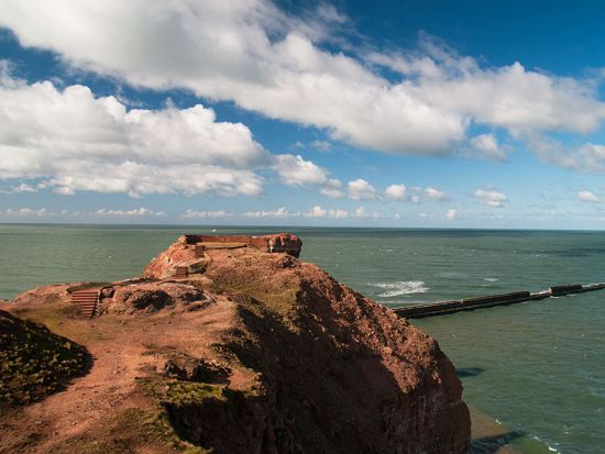 A German ferry company will operate 22 direct sailings between late July and early October from the island of Helgoland (pictured here) to a city-centre quayside in Hamburg (photo © hidden europe).