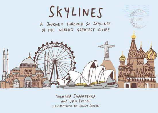 The front cover of Skylines – a new book from Aurum Press (cover courtesy of Aurum Press).