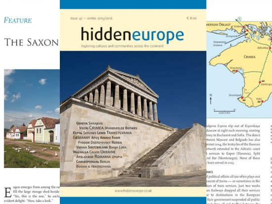 Issue 47 of hidden europe magazine
