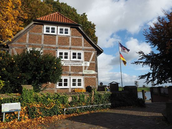 The border museum at Schnackenburg (photo © hidden europe).