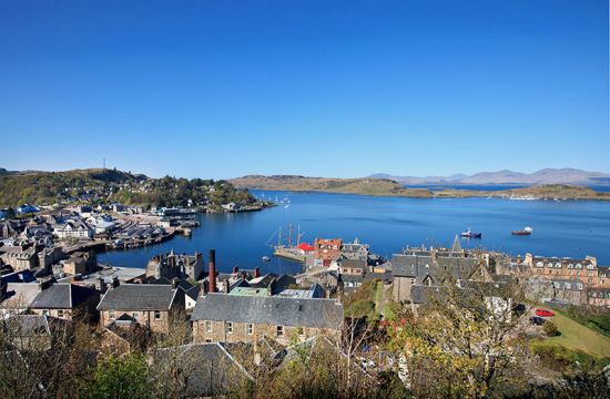 On three weekends in February 2016, the port of Oban on the west coast of Scotland will have a direct overnight sleeper train to and from London (photo © Georgesixth / dreamstime.com).