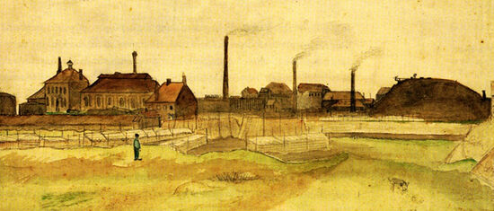 Coalmine in the Borinage