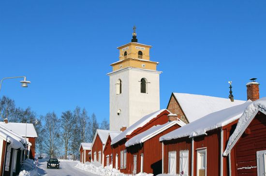 Gammelstad is one of the best-preserved Scandinavian church towns; it is included on UNESCO's World Heritage list(photo © Mariagroth / dreamstime.com).