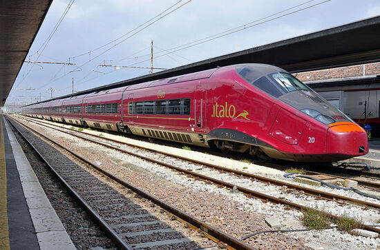 Private Italian operator NTV Italo offers a new weekend service from Milan to Rimini this summer (photo © Eqroy8 / dreamstime.com).