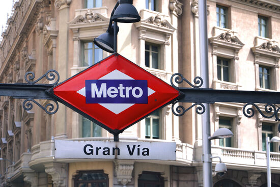 Madrid's Metro Linea 1 has a disused station that has been converted into an exhibition (photo © Dariusz Szwangruber / dreamstime.com).