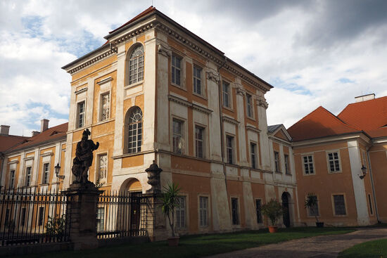 Duchcov Castle in the Czech Republic, where Giacomo Casanova spent the last 13 years of his life looking after the library of Count von Waldstein (photo © hidden europe).