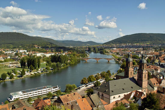 The town of Miltenberg on the River Main (photo © Darknightsky / dreamstime.com).