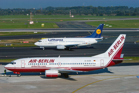 Lufthansa looks set to become more dominant in German skies following the demise of its rival Air Berlin. Air Berlin operates its last flights on Friday 27 October 2017 (photo © Radarman70 / dreamstime.com).