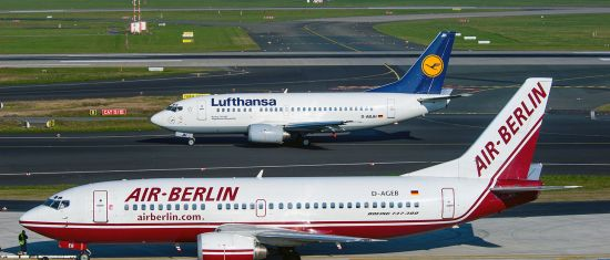 Air Berlin and Lufthansa