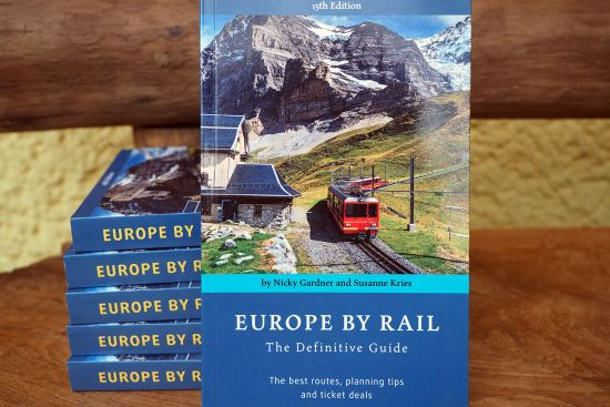The new, 15th edition of Europe by Rail was published in late November 2017.