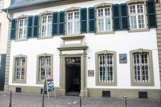 The birthplace of Karl Marx in Trier, Germany, which houses a museum on the life of the German philosopher (photo © Matyas Rehak / dreamstime.com).