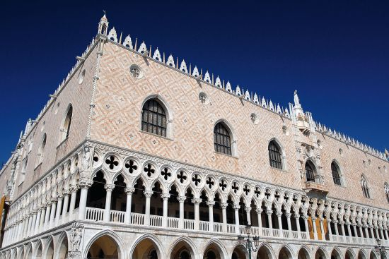 The Palazzo Ducale symbolised the heart of Venetian power in the Mediterranean. Its open and highly decorative design is full of Islamic influcences (photo © David Bailey / dreamstime.com).