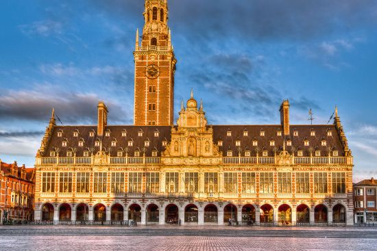 Library of the University of Leuven (photo © Ivan Vander Biesen / dreamstime.com).