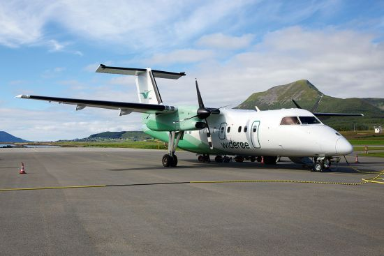Widerøe has shown how Dash-8 aircraft can be flexibly deployed to serve remote rural communities in northern Norway (photo © Masr / dreamstime.com).
