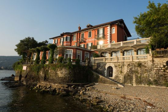 The Hotel Verbano is at the southernmost tip of Isola dei Pescatori (photo © hidden europe).