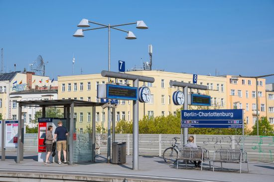 Berlin's Charlottenburg station will add a new departure in December 2018: the Metropol night train to Vienna and beyond (photo © Gestur Gislason / dreamstime.com).