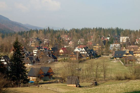 The hill community of Zakopane, in the shadow of the Tatra Mountains, hardly seems the sort of spot for revolution. But 100 years ago it was a self-styled independent republic (photo © hidden europe).