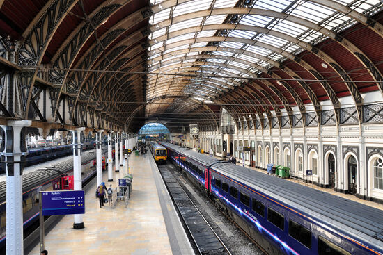 Paddington station is the departure point for over 200 trains a day which speed west on Brunel's classic railway to Ealing and beyond. Just one train each day follows a different route out of Paddington - the New North Line (photo © Jonkio4 / dreamstime.com).