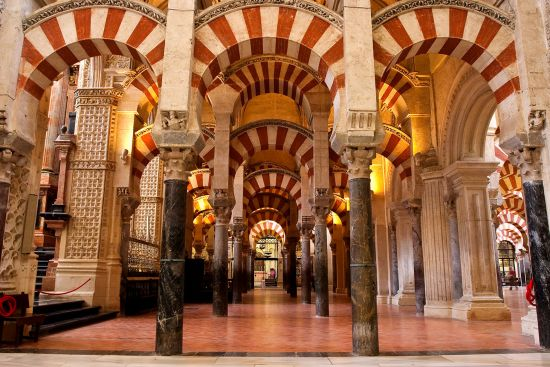 Arcaded mosque in Cordoba, Spain (photo © Patrickwang / dreamstime.com)