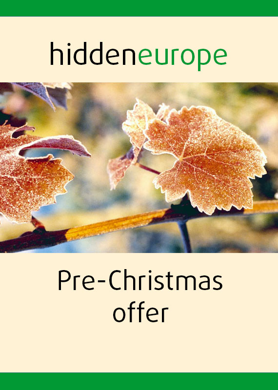 Pre-Christmas sale hidden europe magazine