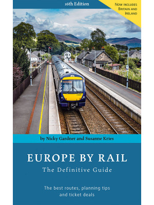 Signed copy of Europe by Rail (16th edition)