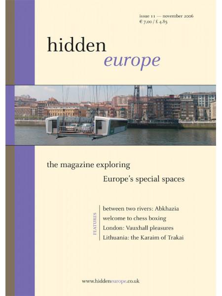 hidden europe no. 11 (Nov / Dec 2006)