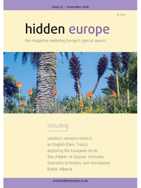 hidden europe no. 23 (Nov / Dec 2008)