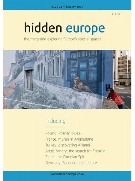 hidden europe no. 24 (Jan / Feb 2009)