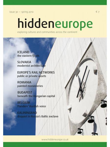 hidden europe no. 30 (spring 2010)
