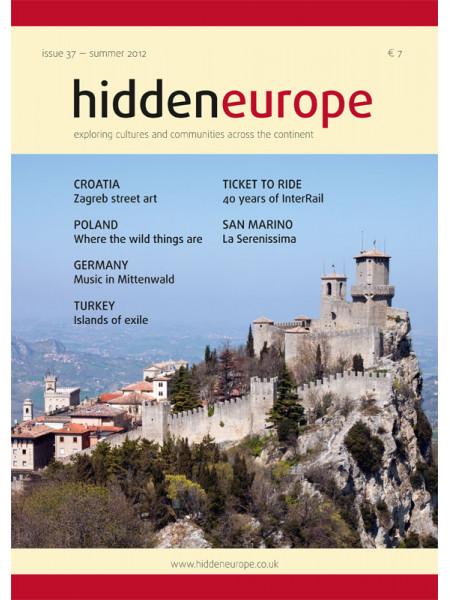 hidden europe no. 37 (summer 2012)