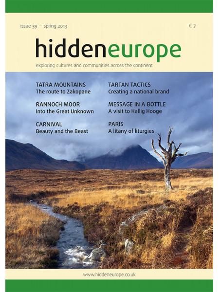 hidden europe no. 39 (spring 2013)