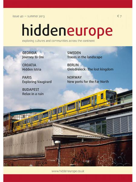 hidden europe no. 40 (summer 2013)